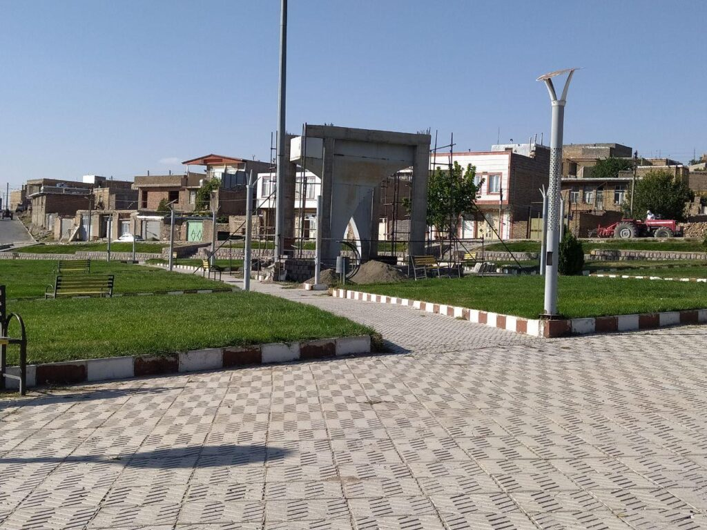 المان شهدا - شهرداری دلبران