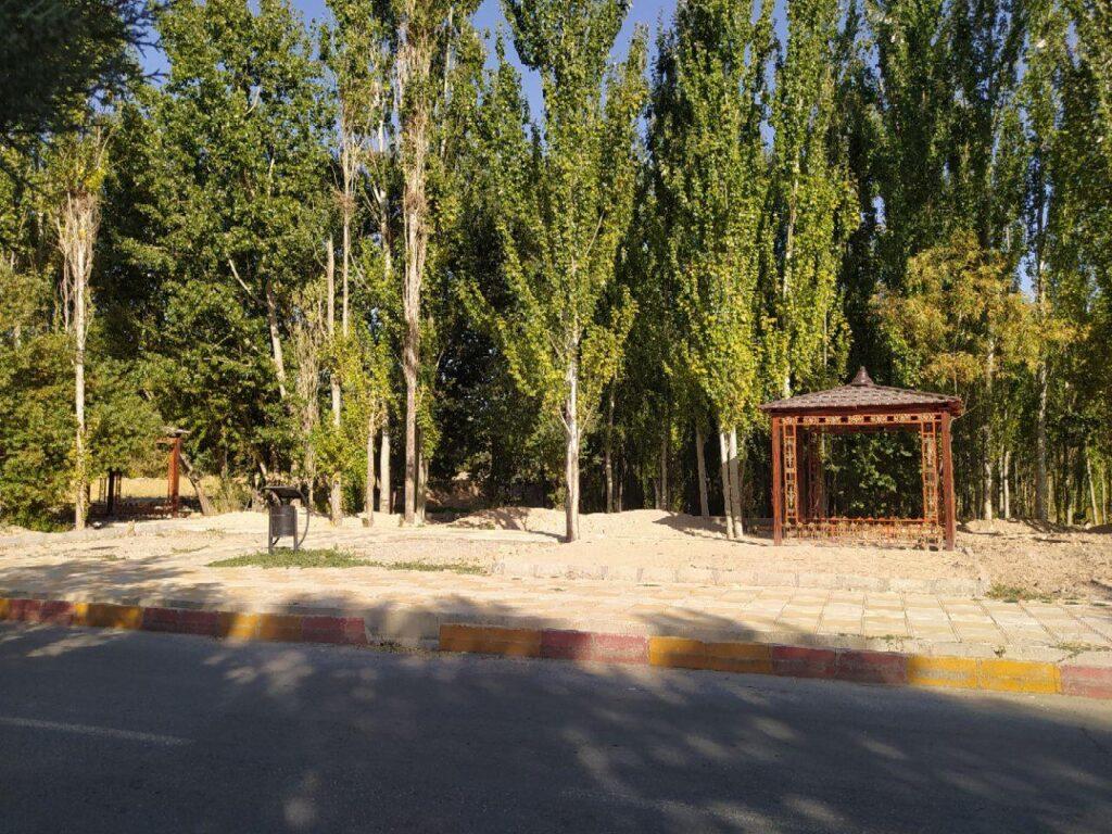 آلاچیق پارک سلامت - شهرداری دلبران