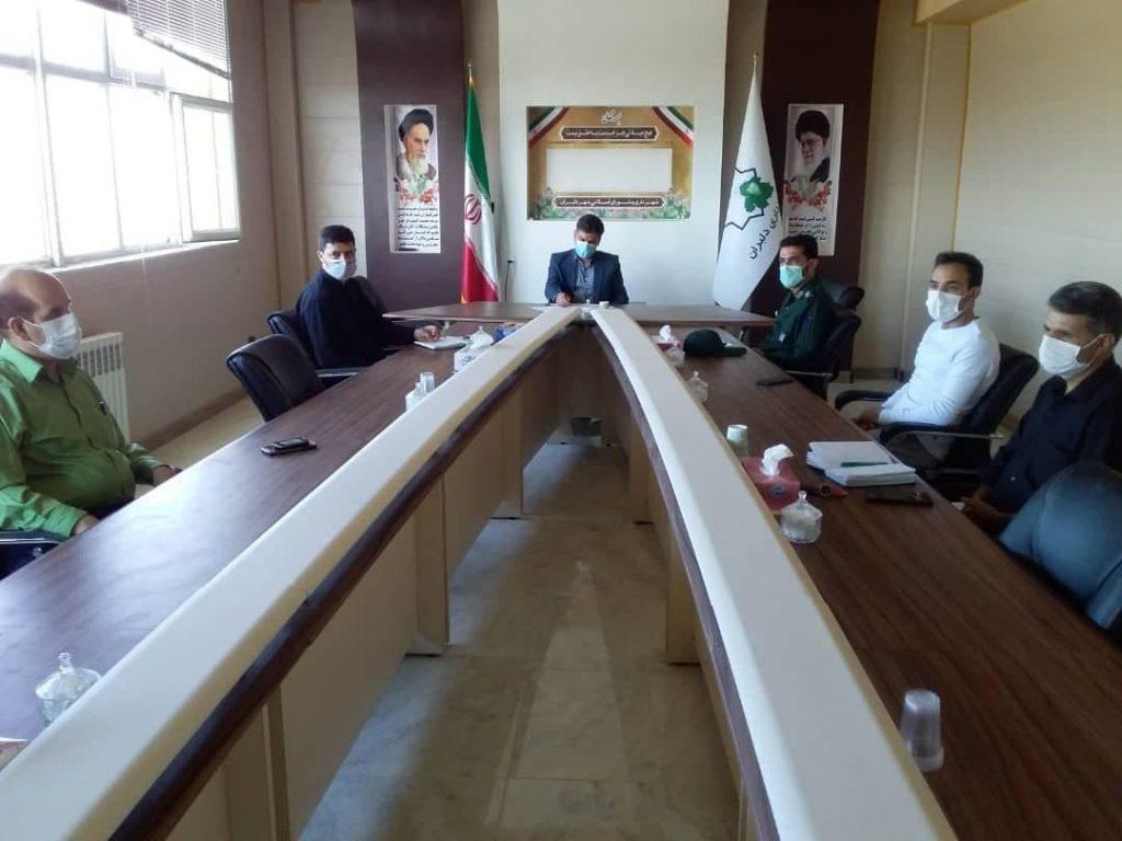 جلسه شورای ورزش دلبران