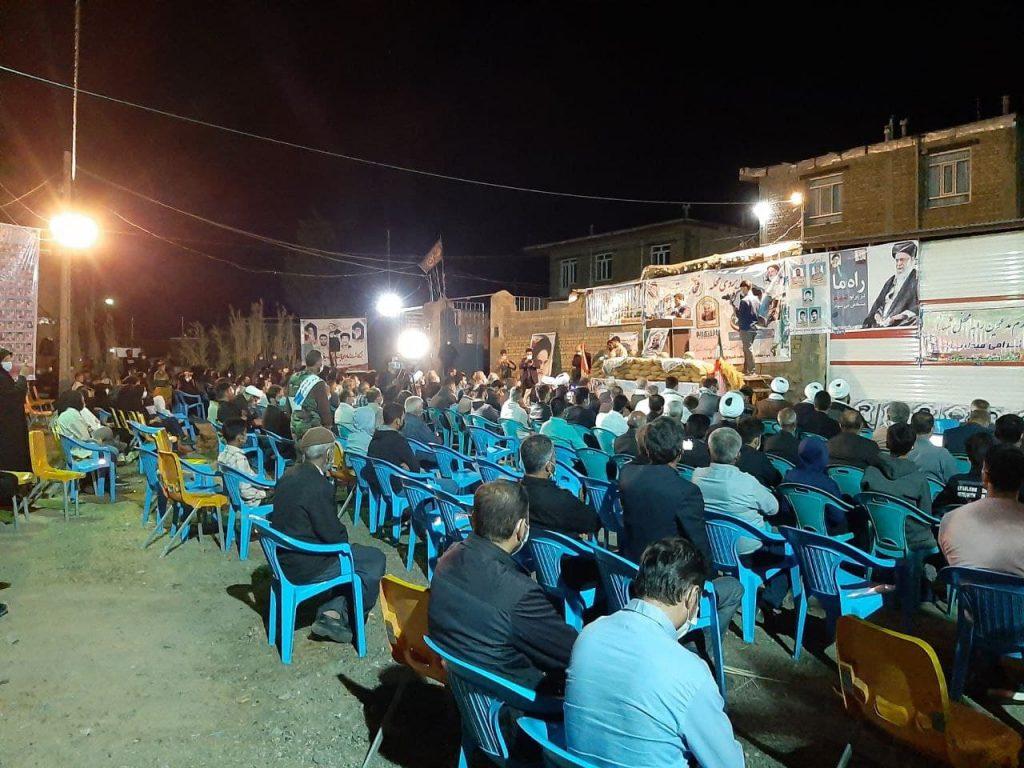 مراسم یادواره شهدای شهر گلالی - شهرداری دلبران